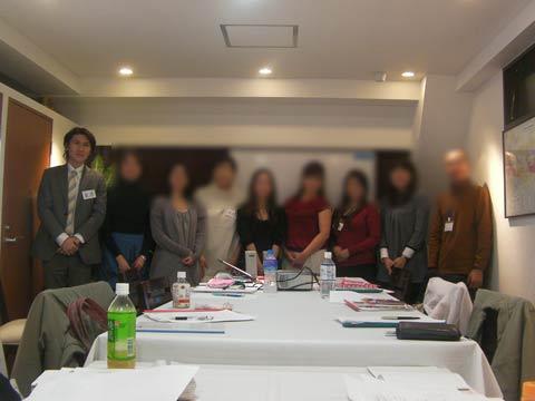 受講生のみなさんと  2010年11月28日