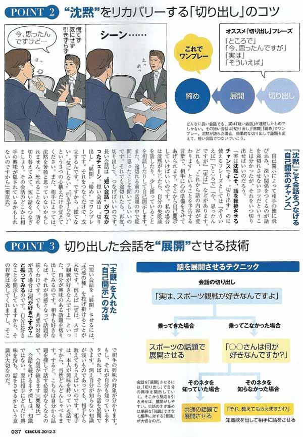 栗原典裕取材記事② 2012年3月号月刊サーカス