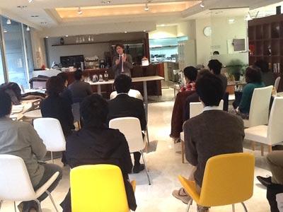 TALK・LAB(トークラボ)スピーチイベント 2012・12・22 青山②