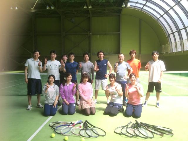 話し方教室トークラボ、ゴールデンウィーク八ヶ岳合宿 テニス