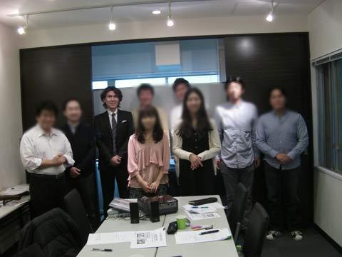 2012年12月、一日集中セミナー受講生の皆様と