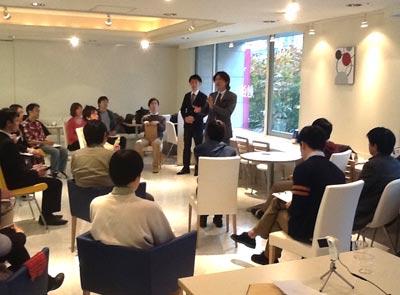 TALK・LAB(トークラボ)スピーチイベント 2012・12・22 青山