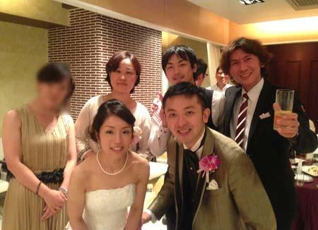 TALK・LAB(トークラボ)卒業生の中野さんがご結婚されました。