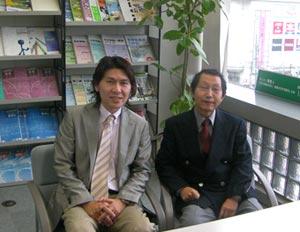 株式会社 栄光 児玉専務とACS代表栗原